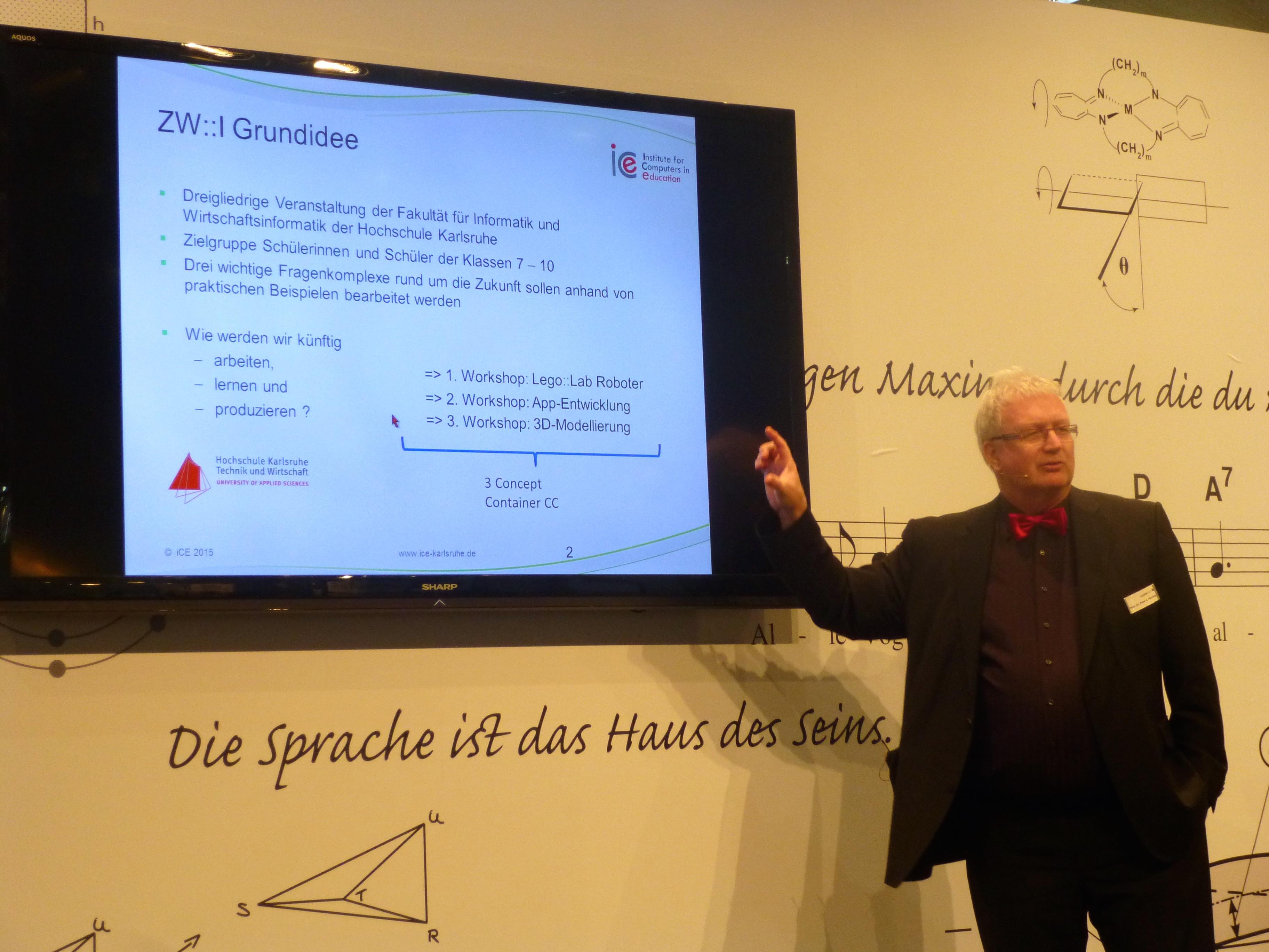 Prof. Peter Henning auf der Learntec 2015